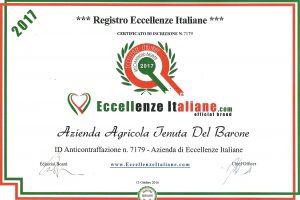 tenuta del barone eccellenze italiane