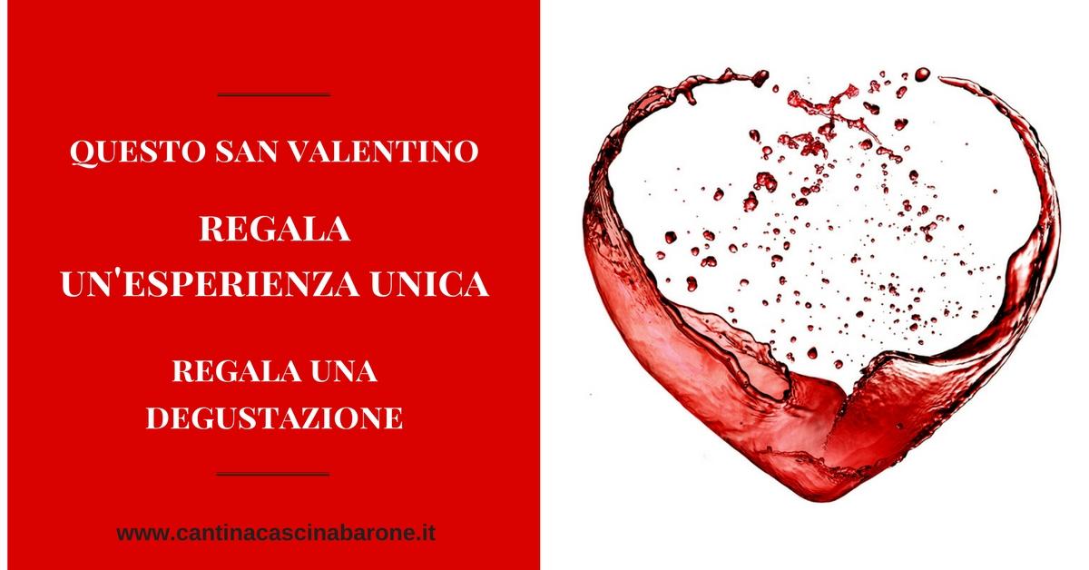 regalo degustazione san valentino